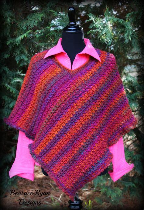 poncho pattern effortless chic poncho free crochet pattern