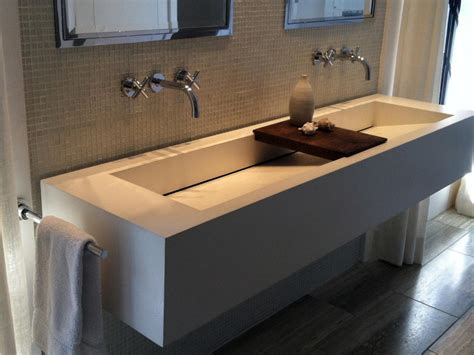 Kitchen And Bathroom Ideas by Trough Sinks For Efficient Bathroom And Kitchen Ideas