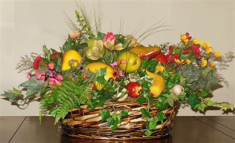 artificial floral arrangements silk flowers how to use fruit in artificial floral