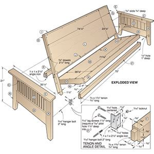 futon woodworking plans futon sofa sleeper build virtualight