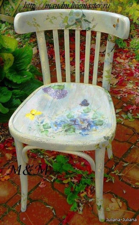 decoupage a chair 25 best decoupage chair ideas on decoupage