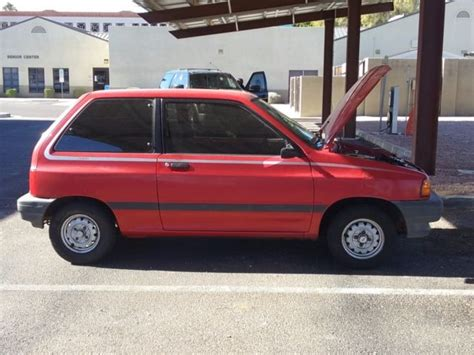 download car manuals 1992 ford festiva engine control service manual old car owners manuals 1990 ford festiva electronic valve timing service