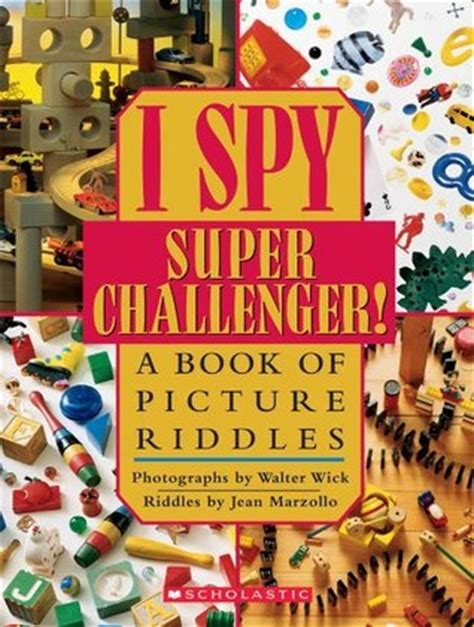 i mystery a book of picture riddles i challenger a book of picture riddles by jean