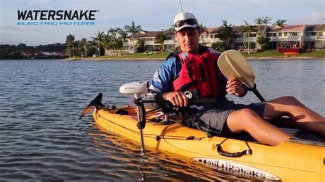 Kayak Electric Motor by Watersnake Universal Electric Motor Mount For Kayaks And