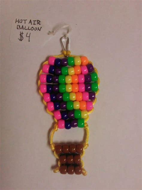 pony bead keychain patterns air balloon bead pet keychain