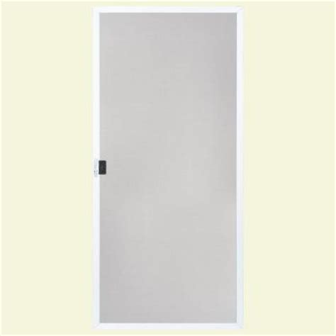 patio door screens home depot masonite 36 in white replacement screen for patio doors