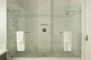 Bathroom Shower Stall Tile Designs dual shower transitional bathroom eric olsen design