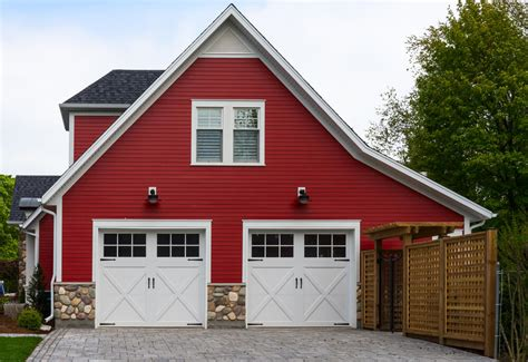 Brick Garages Designs 60 residential garage door designs pictures