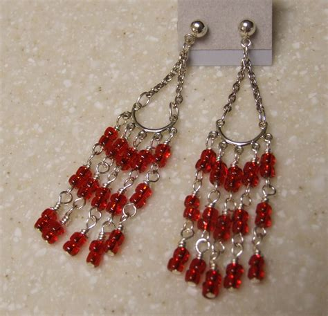 chandelier earrings 0656ea by happybeadershop on etsy