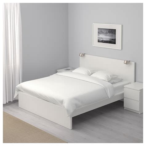 high size bed frame malm bed frame high white lur 246 y standard ikea