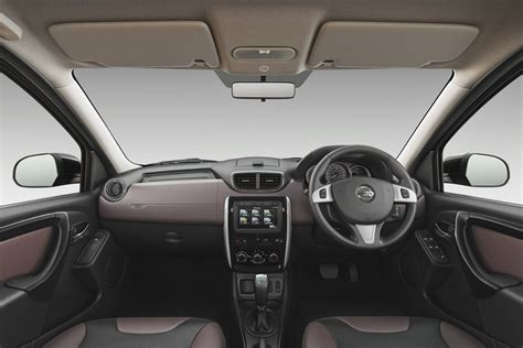 interior nissan terrano nissan terrano facelift launched at 9 99 rs lakh autodevot