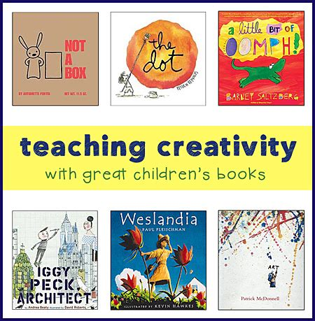 teaching with picture books childrens books for teaching creativity and thinking