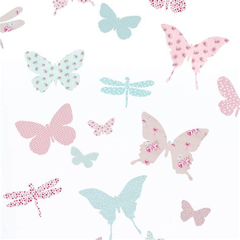 Childrens Large Wall Stickers children s butterfly fabric wall stickers by koko kids