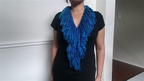 how to make a knit scarf how to make no crochet or knit scarf and easy