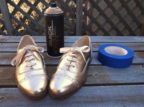 spray paint shoes spray painted oxfords what i do