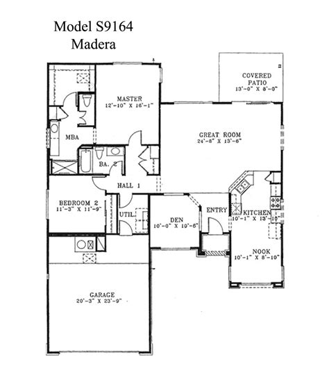 plans for houses sun city grand madera floor plan webb sun city grand floor plan model home house plans