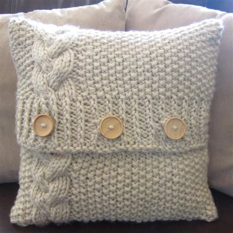 knitted pillow covers cable knit pillow cover patterns a knitting