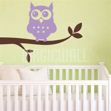 owl wall decals nursery owl nursery wall decals owl wall decal personalized