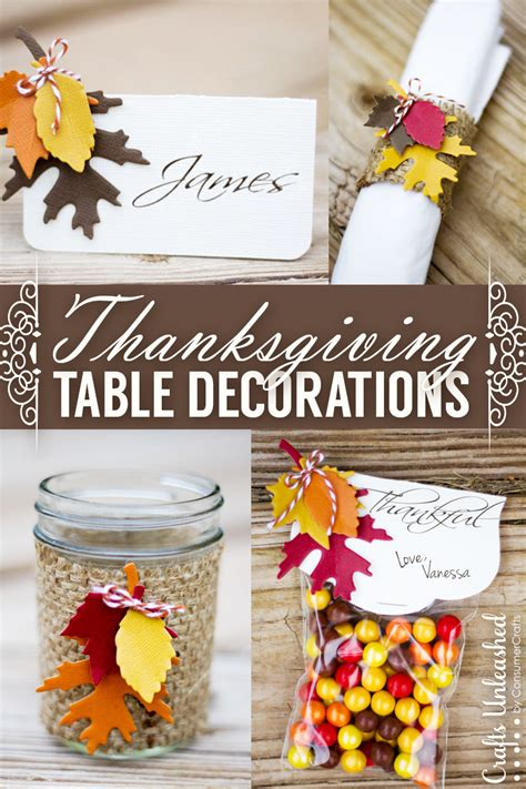 thanksgiving table crafts for thanksgiving table decor easy festive crafts unleashed