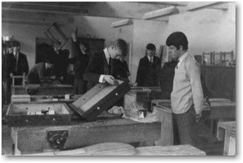 woodwork class jrgs 5g 1967 scrapbook file
