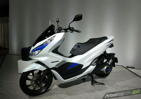 Honda Pcx 2018 Tokyo Motor Show by Honda Pcx Electric Autonetmagz Review Mobil Dan Motor