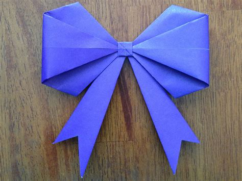 how to make a origami ribbon origami bow make