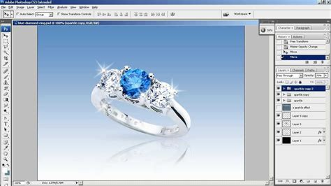 on photoshop create a sparkle effect in photoshop