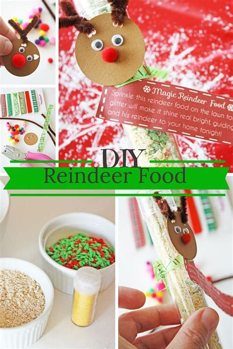 reindeer food craft project how to make reindeer food crafts cas and gifts