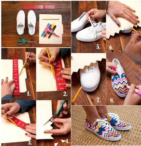 fashion crafts for diy fashion craft sneakers pictures photos and images