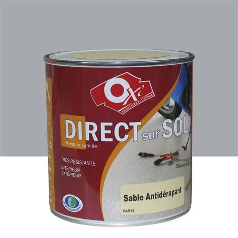 peinture sol ext 233 rieur int 233 rieur antid 233 rapante oxytol gris 0 5 l leroy merlin