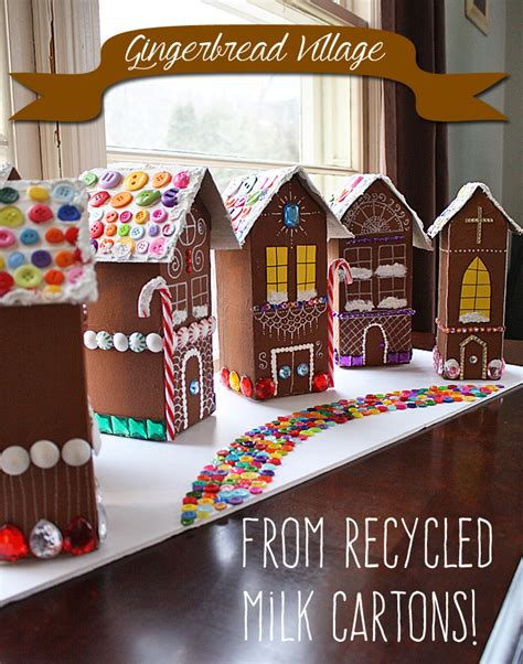 gingerbread house craft for milk gingerbread houses nifymag
