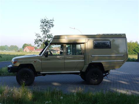 custom campers toyota hzj79 doka
