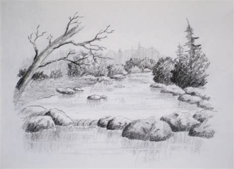 landscapes to draw class intro to landscape drawing paint
