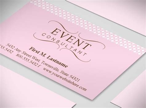 card ideas and templates wedding planner business cards event coordinator