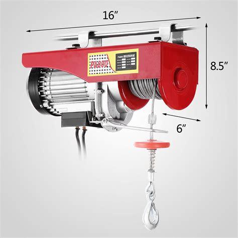 Electric Hoist Motor by 1500lb Capacity Electric Hoist Motor Overhead Winch Crane