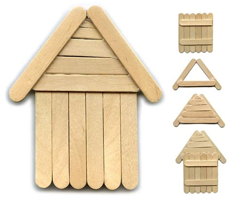 popsicle stick crafts for to make another popsicle stick house projects for