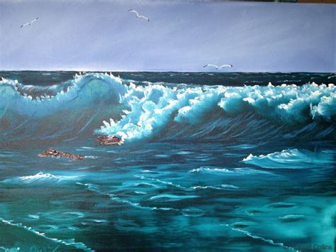 bob ross seascape paintings bob ross lessons with collins collins