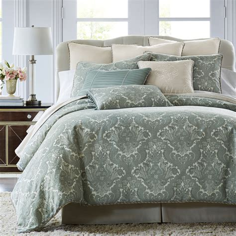 velvet comforter set upc 736425617522 royal velvet azure 4 pc comforter set