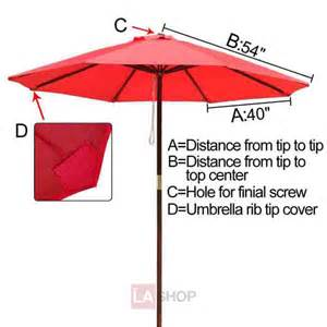 patio umbrella replacement canopy 9 ft patio market umbrella replacement canopy thelashop