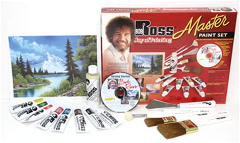 bob ross painting master paint set bob ross complete painting package deal a great gift idea
