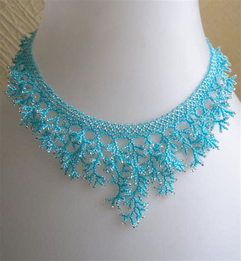 bead necklace tutorial patterns 17 best ideas about seed bead patterns on