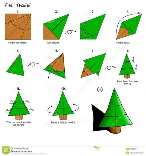 origami palm tree origami easy origami tree how to make a