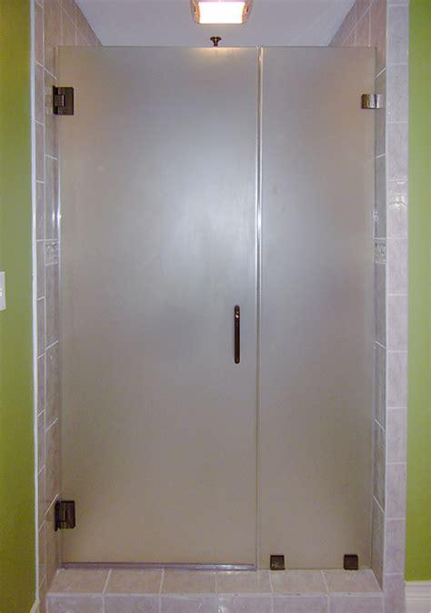 opaque shower doors frameless showerdoors