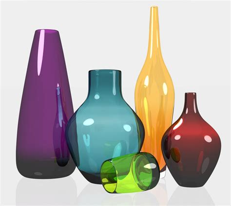coloured for vases vases design ideas colored glass vases collectible