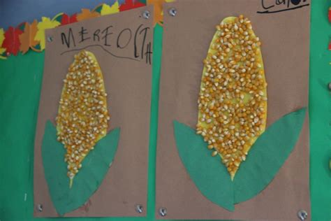 corn crafts for the johnson journey unit theme fall harvest pumpkins