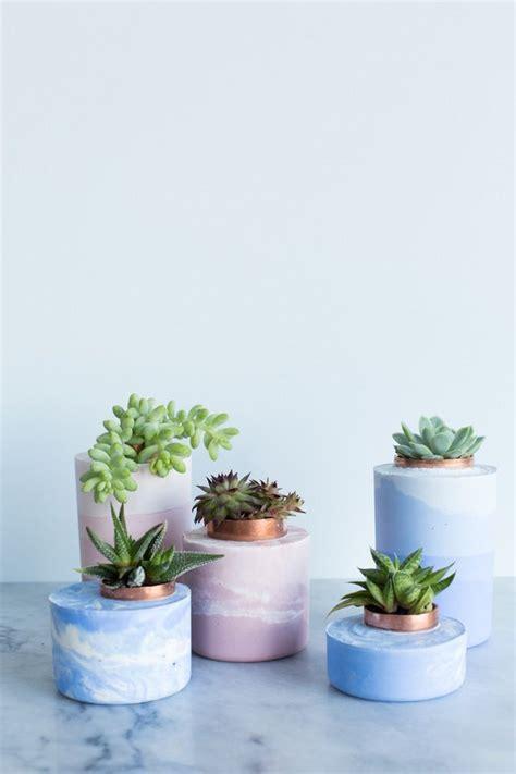 diy cement planters 25 best ideas about cement planters on diy