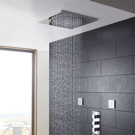 bathroom shower heads ceiling tile shower 20 quot