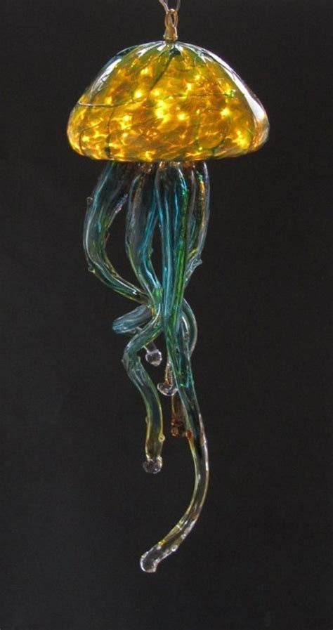 jellyfish chandelier jelly chandelier silver green opal glass