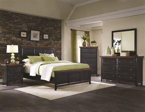 rustic black bedroom furniture dallas designer furniture mabel rustic black bedroom set