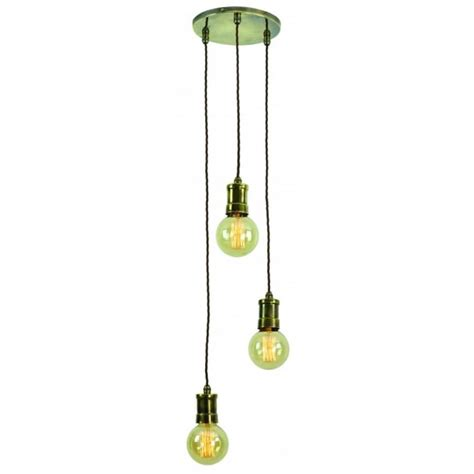 cluster lights cluster pendant light fitting with vintage style light